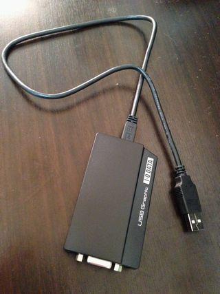 USBグラフィック(USB-RGB2)